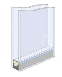 Puertas de paso de cristal abatibles bisagra hidraulica for Cristal climalit