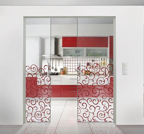Puertas de paso de cristal correderas aluminios leganes - Fabrica de puertas en madrid ...