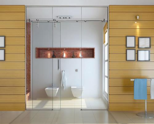 Puertas de paso de cristal correderas aluminios leganes - Fabrica puertas madrid ...